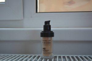 Face contouring tutorial - makeup forever foundation